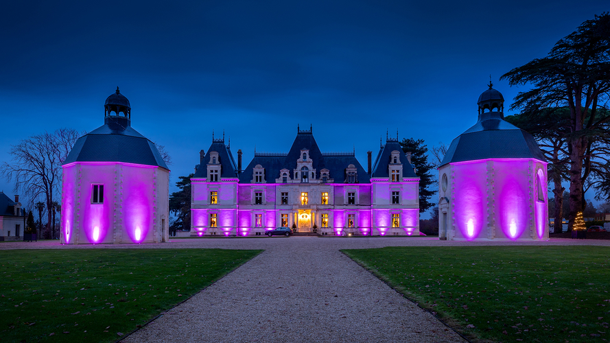Come and live a magical moment ... Celebrate New Year's Eve in the castle Château de Maubreuil
