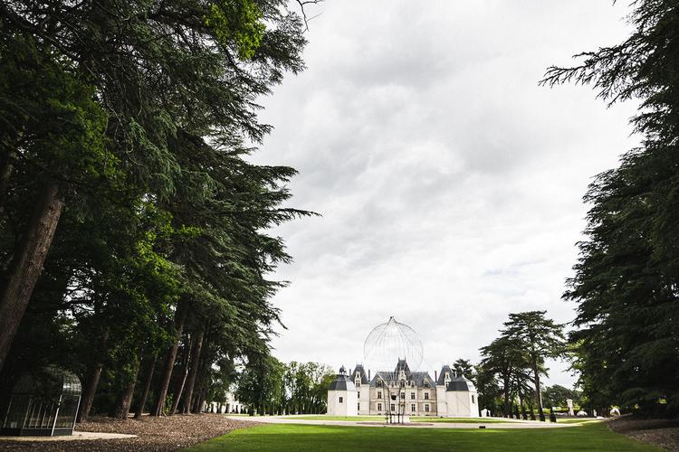 AU JARDIN Château de Maubreuil